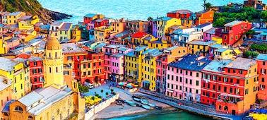 Slika stavb s prikazom podrobnosti 4K z več milijardami barv