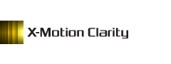 Logotip tehnologije X-Motion Clarity