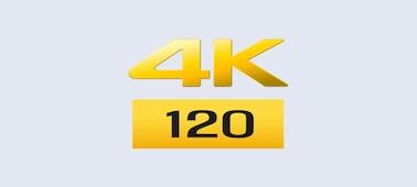 Logotip za 4K/120 sličic/s