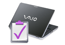 Logotip VAIO Care