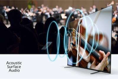 Glasbeni koncert s prikazom usklajenosti zvoka in slike