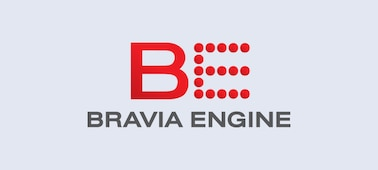 Logotip za BRAVIA ENGINE