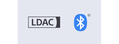 Logotipa LDAC in BLUETOOTH®