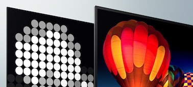 Slike na zaslonu, ki prikazujejo izjemen kontrast in resnično globino
